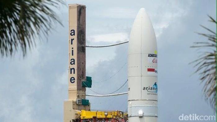 BRIsat siap diluncurkan (dok. Arianespace)