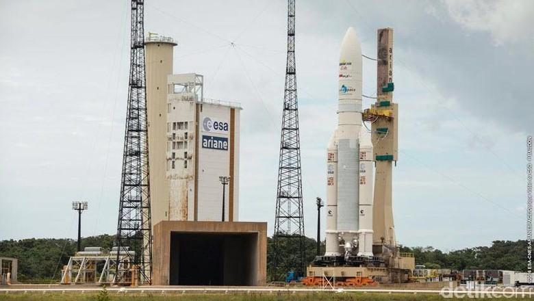 Mengintip Lokasi Peluncuran Satelit BRI