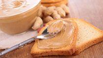 Dinikmati dengan Roti, Selai Kacang Sedang Jadi Idola di Inggris