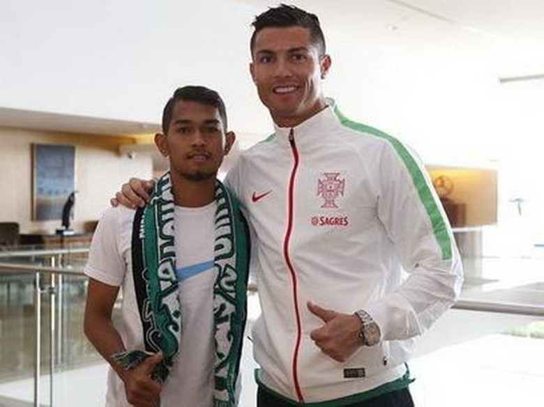 Martunis Anak Angkat Ronaldo Ikut Seleksi Calon Bintara Polisi