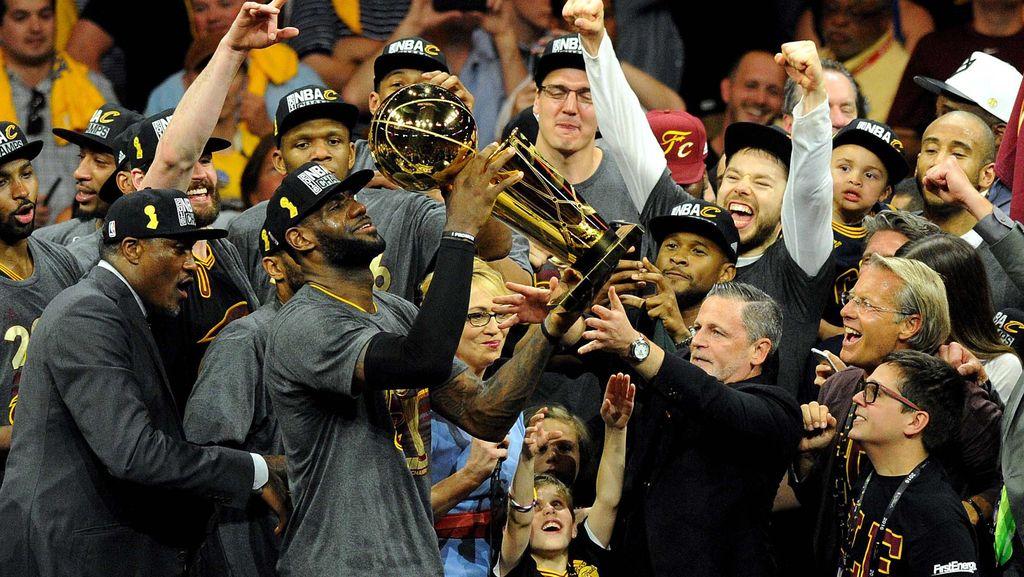 Cleveland Cavaliers Juara NBA