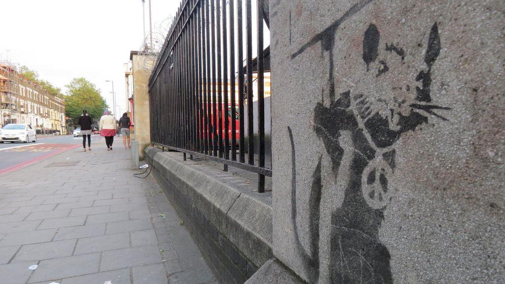 Wisata Anti Mainstream, Berburu Graffiti Karya Seniman Misterius di London