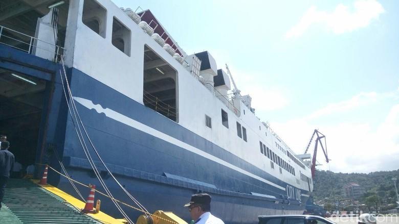 Begini Isi Kapal Roro Rute Pelabuhan Panjang-Tanjung Priok