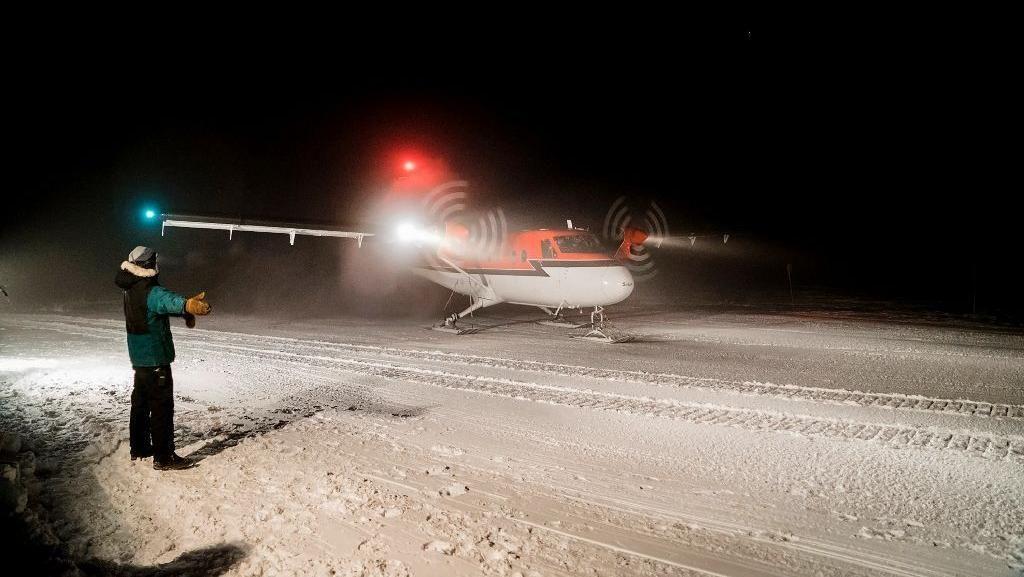 Sakit, 2 Pekerja AS Dievakuasi dalam Misi Langka di Kutub Selatan