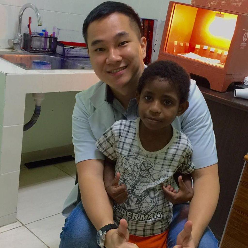 Benediktus Andries, Dokter Muda yang Ingin Tingkatkan Kualitas Anak Papua