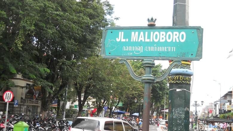 Foto: Malioboro, salah satu destinasi favorit di Yogyakarta (Bagus Kurniawan/detikTravel)