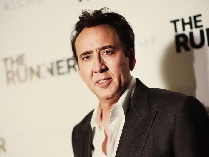 Wajah aktor Amerika Nicholas Cage sudah sering mengisi sejumlah film populer. Kabarnya Cage juga mengidap vertigo. (Foto: Gettyimages)