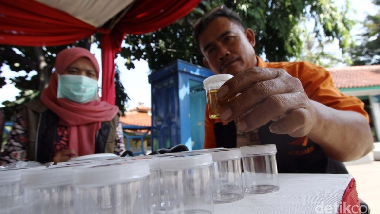 Sopir Bus Angkutan Lebaran Dites Urine