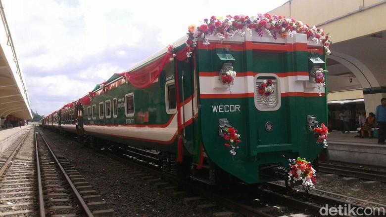 Bertemu Jokowi, PM Bangladesh Pesan 250 Gerbong Kereta