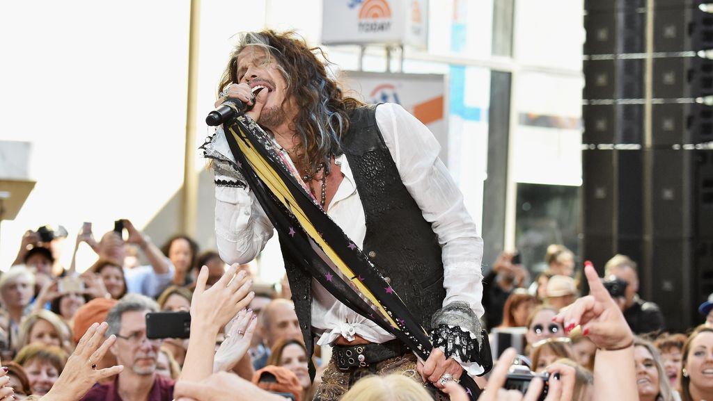 Terinspirasi Lagu, Vokalis Aerosmith Buka Rumah Singgah untuk Perempuan Korban Kekerasan