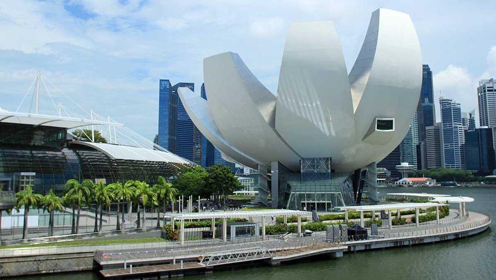 Ketika Seni Bertemu Sains di ArtScience Museum, Singapura