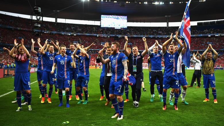Timnas sepakbola Islandia (Shaun Botterill/Getty Images)