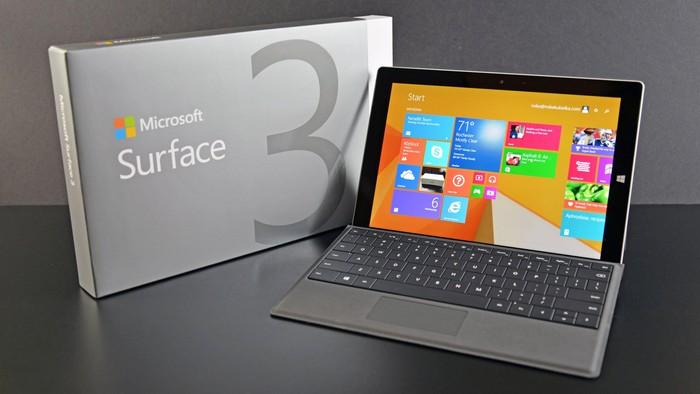 Microsoft Surface. Foto: Microsoft