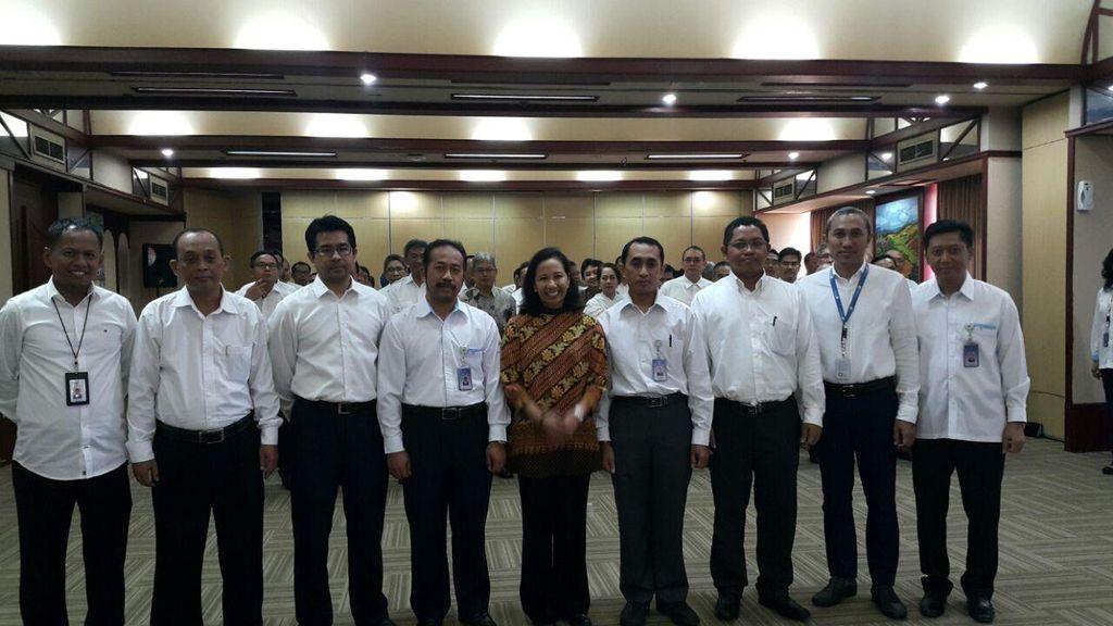 Rini Lantik 6 Pejabat Kementerian BUMN Hasil Lelang Jabatan