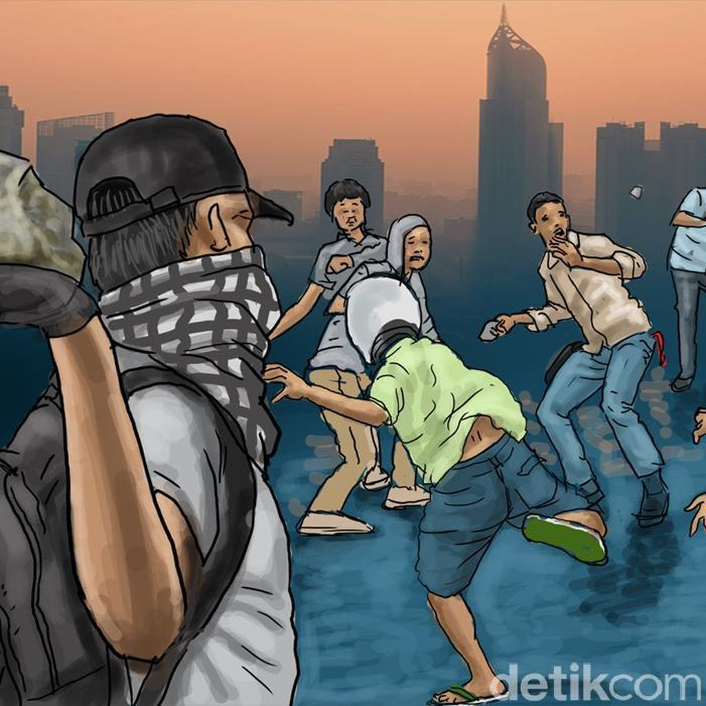 Lagi, Pengantar Jenazah Tawuran dengan Warga Dekat TPU di Makassar