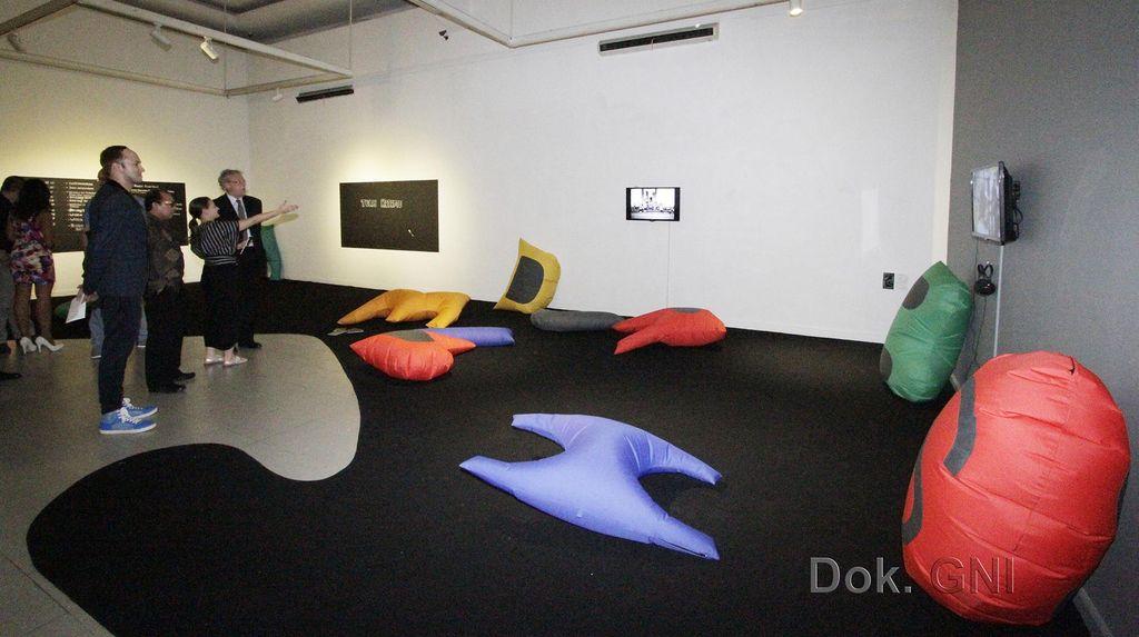 Seniman Polandia dan Indonesia Pameran Bareng di Jakarta