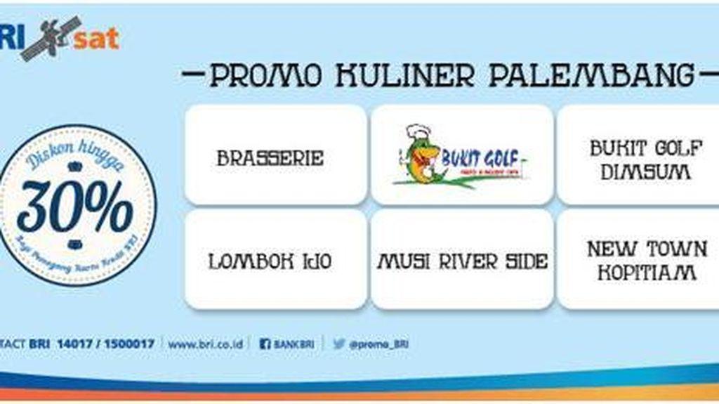 Promo Kuliner Palembang dengan Kartu Kredit BRI