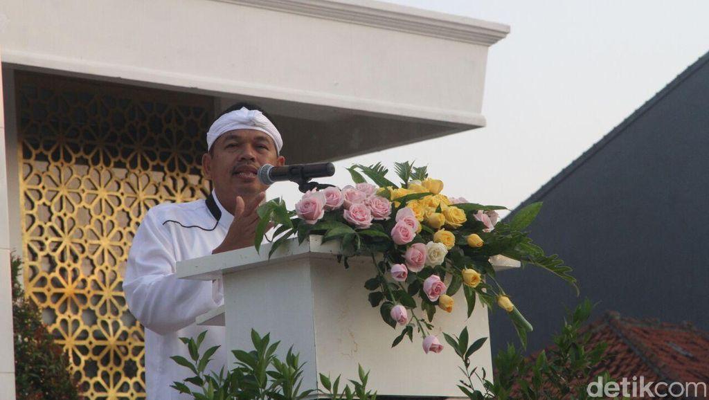 Lantik Ketua Golkar Cimahi, Kang Dedi Instruksikan Urus Warga Adat Tak Ber-KTP