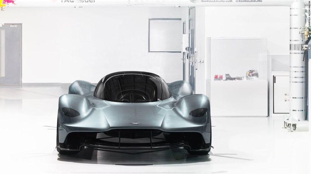 Hypercar Garapan Aston Martin dan Red Bull Racing