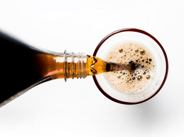 Foto: Ilustrasi minuman ringan/ iStock