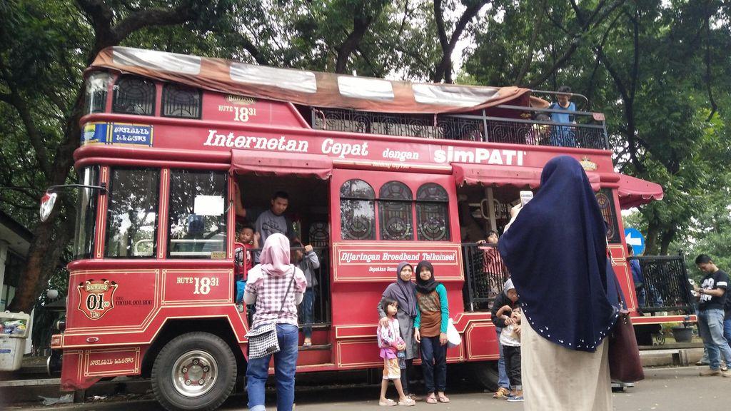 Bus Bandros Punya Bandung Bakal Dipakai Arak-arakan Owi dan Butet di Jakarta