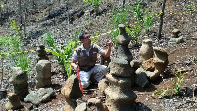 Artefak Batu Bidak Catur Menghadap Laut Selatan, Ada Kaitan dengan Budaya Maritim