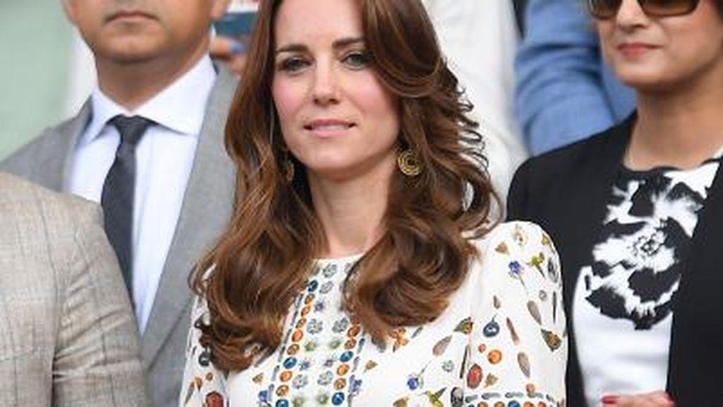 Foto: Intip Deretan Gaya Stylish Kate Middleton di Wimbeldon