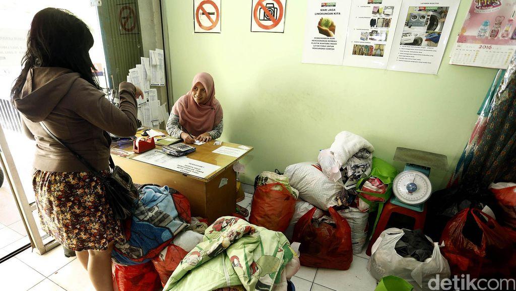 Pengusaha Laundry Raup Omzet Rp 3 Juta/Hari Mulai H-7 Lebaran