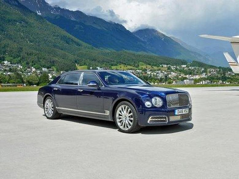 Bentley Mulsanne Siap Disetrum