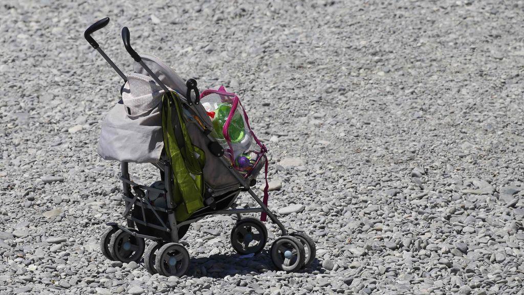 Bikin Terenyuh! Cerita Ayah Dorong Stroller Kosong Saat Maraton
