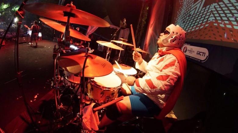 Endank Soekamti Perkenalkan Drummer Baru The Super SAS