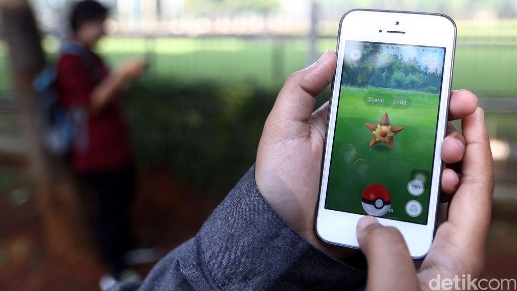Asyik Bermain Pokemon Go, Ponsel Pelajar SMA di Bandung Dirampas Penjambret