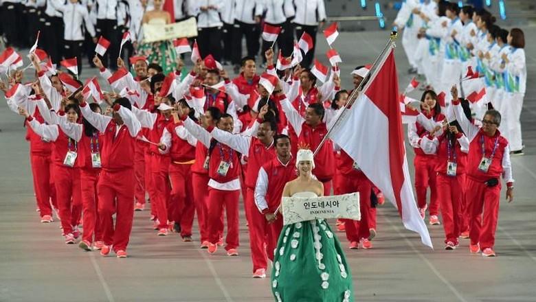 Siman Jadi Pembawa Bendera Indonesia di Defile SEA Games 2017?