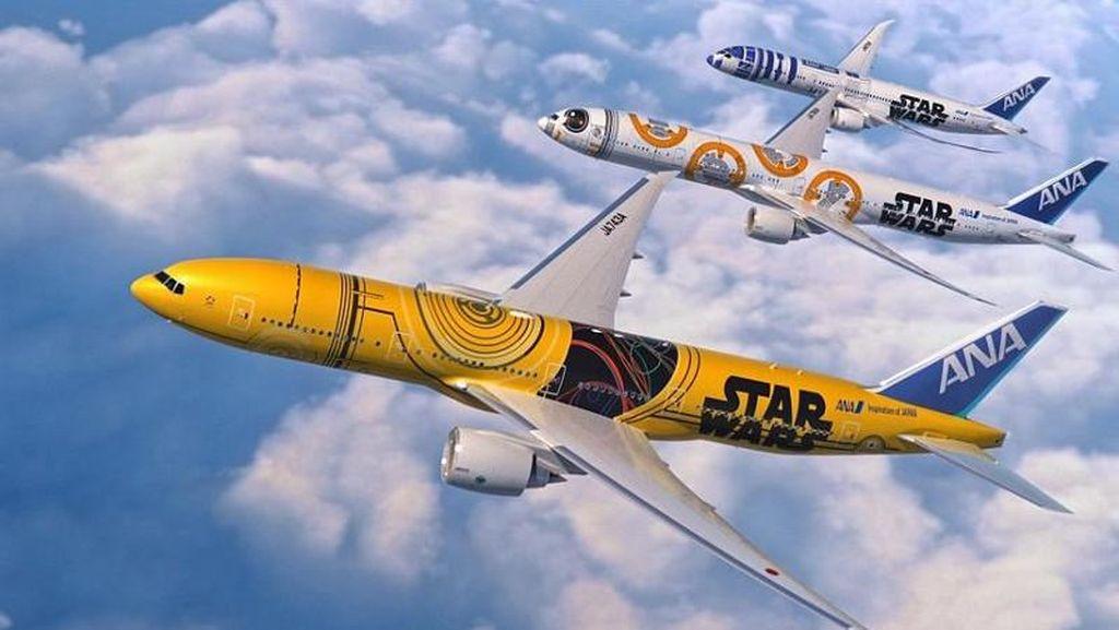Keren! Maskapai Jepang Akan Luncurkan Pesawat Bertema C-3PO Star Wars