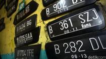 Warna Pelat Kendaraan akan Diganti Agar Ramah CCTV