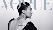 Tampil di Vogue Korea, G-Dragon Dipotret Langsung Oleh Karl Lagerfeld