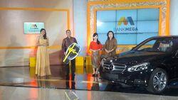 Hadiah Utama Mega Super Vaganza Diraih Nasabah Bank Mega di Pontianak