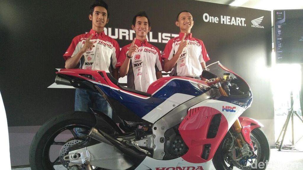 Ini Tanggapan Para Pebalap Honda Tentang Honda RC213V-S