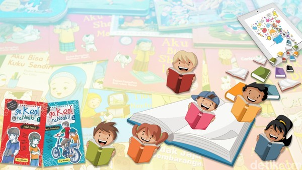 Industri Buku Anak Harus Adaptif dan Inovatif