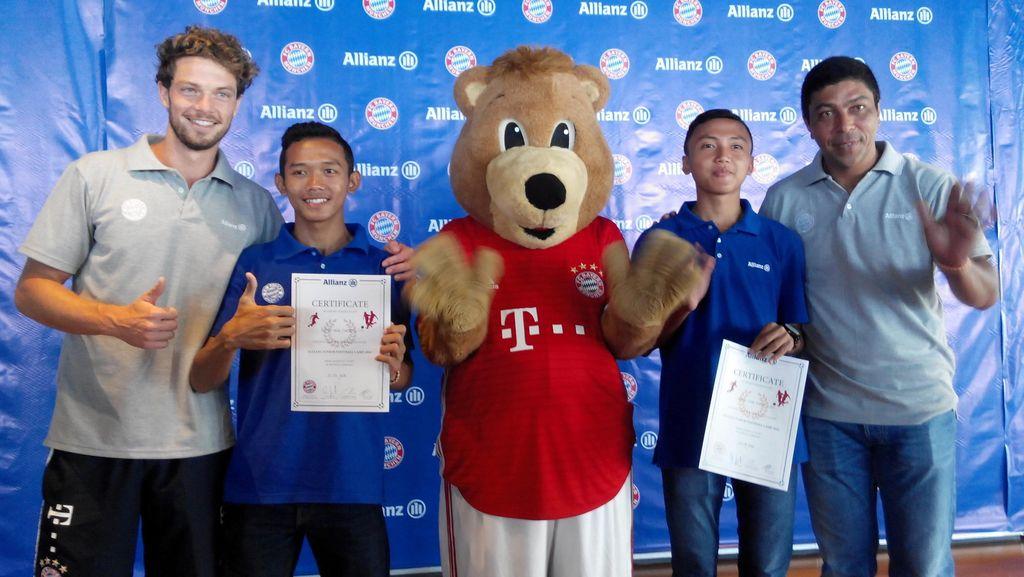 Allianz Junior Football Camp Kirim 2 Anak Indonesia ke Jerman