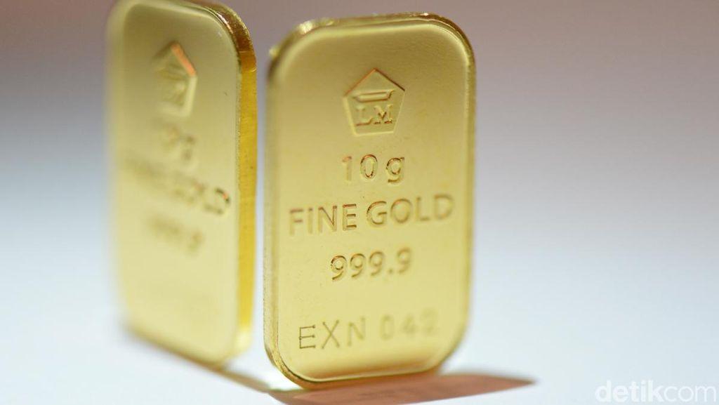Harga Emas Turun Rp 4.000, Sekarang Dijual Rp 623.562/Gram