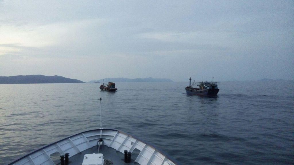 Kapal Eks Asing Jadi Cadangan untuk Tangkap Ikan di Natuna