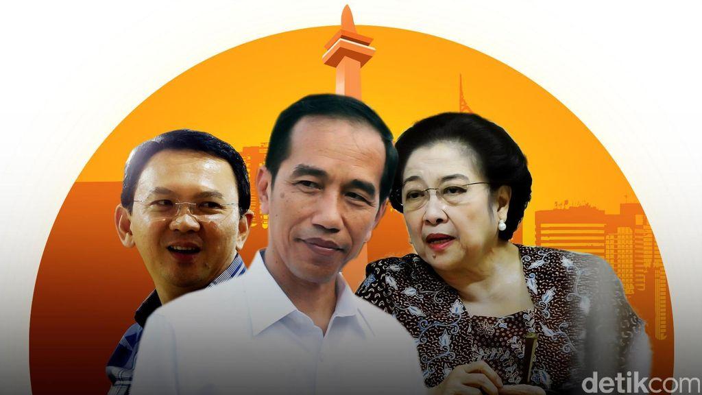 Jokowi di Tengah Konflik PDIP-Ahok