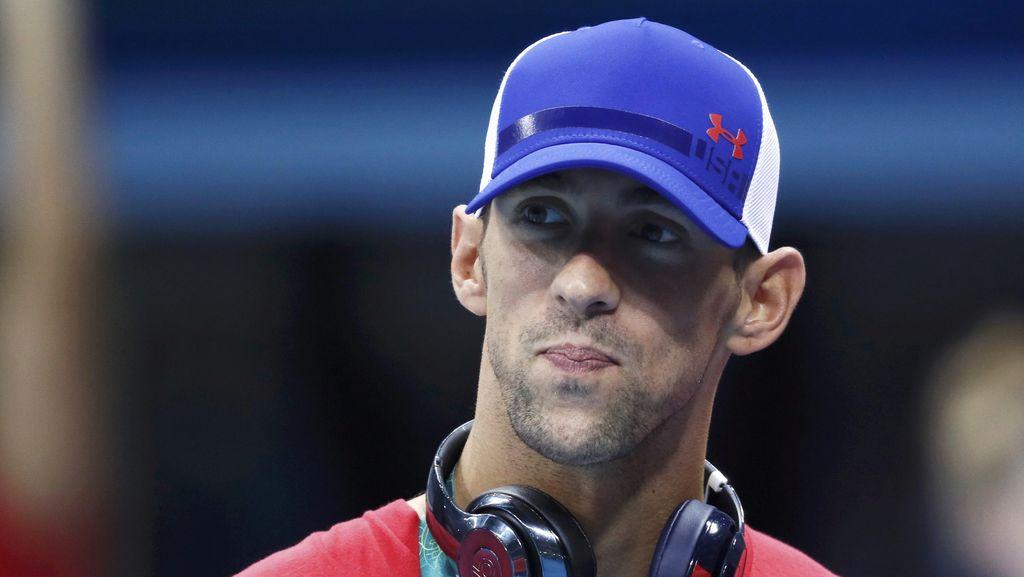 Curhat Soal Depresi, Michael Phelps: Aku Bersyukur Tak Jadi Bunuh Diri
