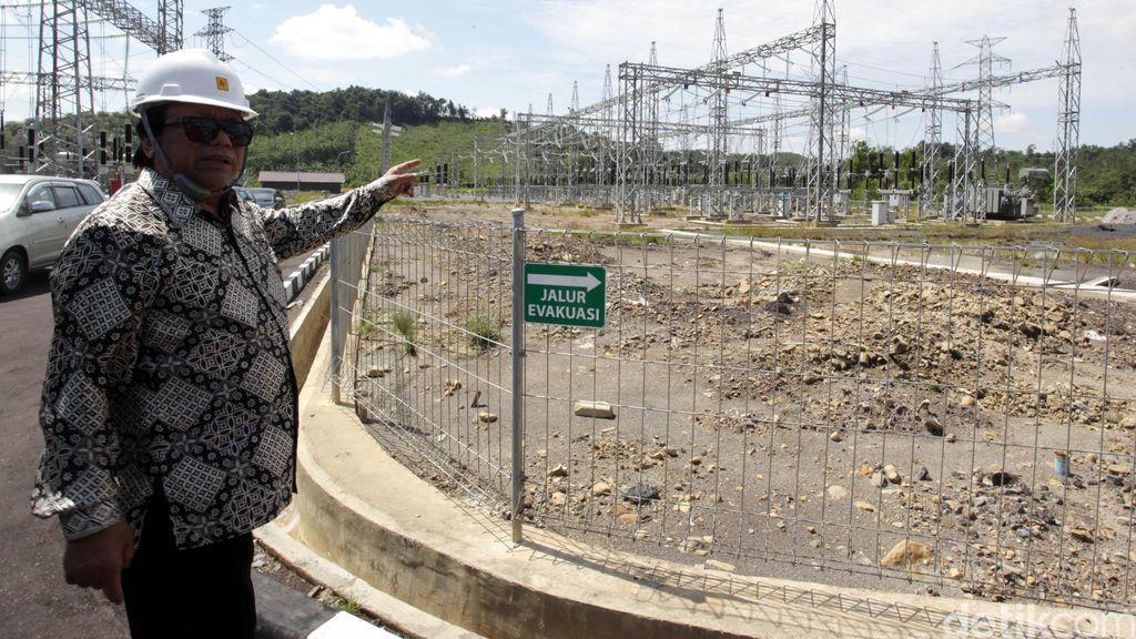 Oesman Sapta Tinjau GITET di Kalimantan Barat