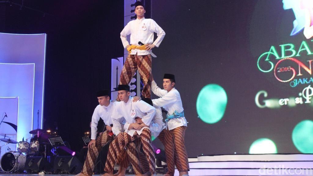 Dibuka Vina Panduwinata, Para Finalis Unjuk Gigi di Malam Final Abang None 2016