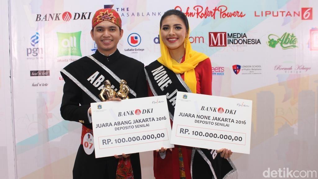 Pemenang Abang None 2016 Dapat Rp 100 Juta