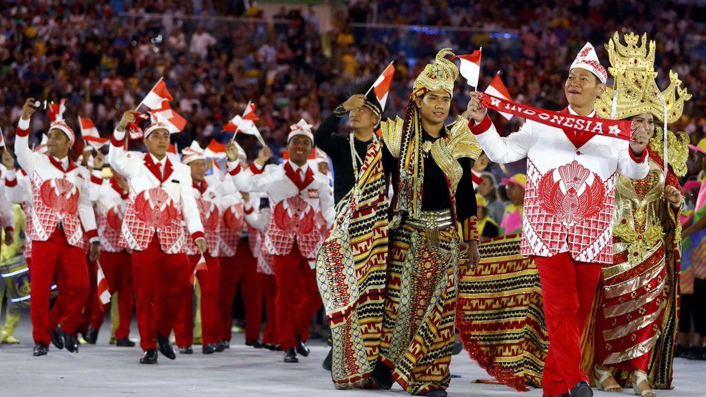 Kostum Indonesia di Pembukaan Olimpiade 2016 Dipuji Netizen Dunia