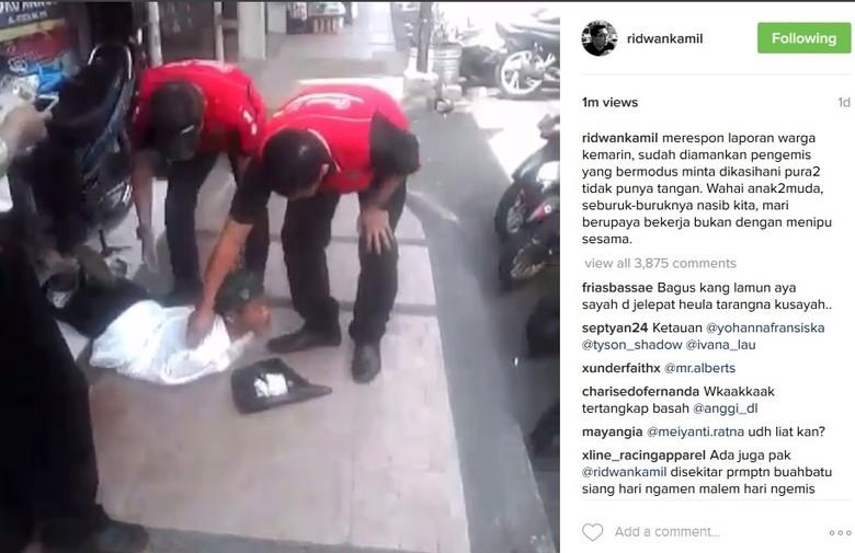 Cara Satpol PP Bandung Buat Jera Pengemis Buntung: Razia hingga Sebar Foto