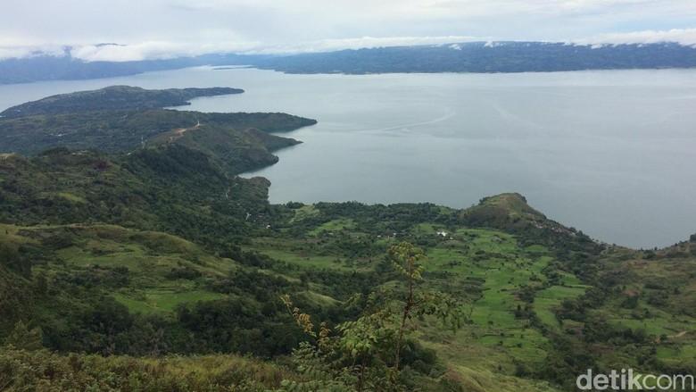 Foto: Danau Toba yang cantik (Afif/detikTravel)